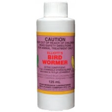 Elliotts Bird Wormer 125ml