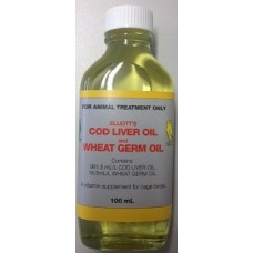 Elliotts Cod Liver Oil & Wheat Germ 100ml