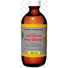 Elliotts Cod Liver Oil & Wheat Germ 1 Litre