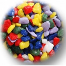 1.5 Kg Rainbow Gravel - 5 Colours mixed