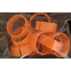 Plastic Poultry Leg Rings Pkt 100 - Large