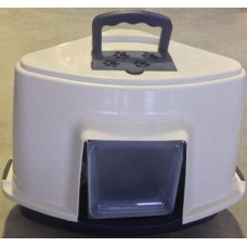 Corner Hooded Litter Tray