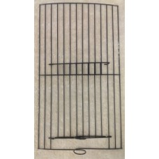 Black Wire Feeder Front 18X33cm