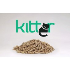 Kitter Wood Pellet Cat Litter 3kg