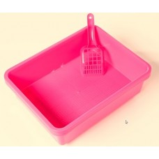 Kitter Litter Tray Set - Pink Colour