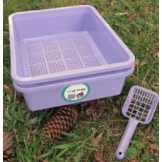 Kitter Litter Tray Set - Purple Colour