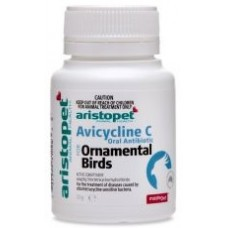 Avicycline C 50G (Treats Psitticosis)