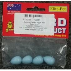 Plastic Dummy Cockateil Eggs 4s