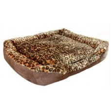 Gruff Plush Leopard Lounger Large