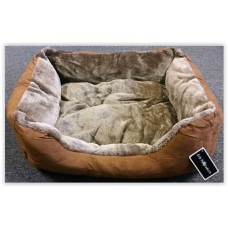 Gruff Suede Dog Bed Small