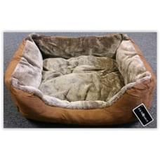 Gruff Suede Dog Bed Large