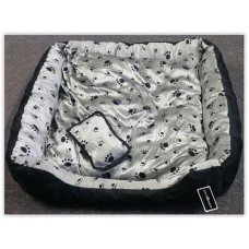 Gruff Printed Dog Bed Large