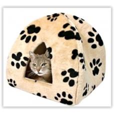 Gruff Printed Cat Igloo