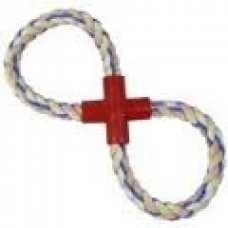 Rope Tug Toy - Figure 8 Small 30cm