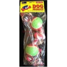 Rope Knot Bone W/2 Tennis Balls