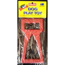 """Rubber Tug Toy 8"""""""