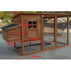 Timber Chicken Coop
