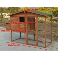 Timber Chicken Coop GP106