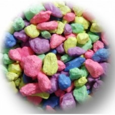 1.5Kg Pastel Gravel - Rainbow mix