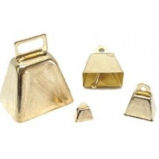 Metal Cow Bell 38mm 10Pack