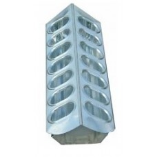Galvanized Feeder with Holes 370mm