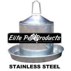 Stainless Steel Poultry Drinker 2Ltr