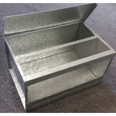 Mouse Cage Galvanised Metal With Tray Small