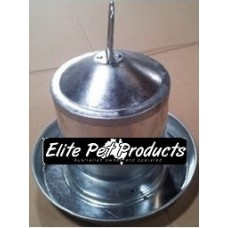 Metal Poultry Waterer 3 Ltr