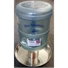 Water Bottle Poultry Waterer 2-Piece 15 Ltr