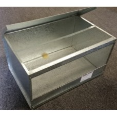 Mouse Cage Galvanised Metal With Tray Large