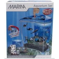 """Marina """"Shark"""" Goldfish Kit Blue - 10 Litres"""