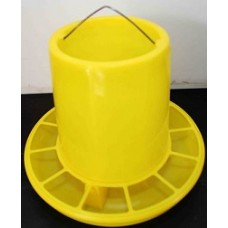 Plastic Yellow Poultry Feeder 800g