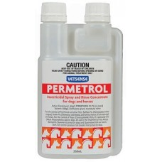 Vetsense Permetrol - Insecticidal Rinse/Spray Concentrate 250ml