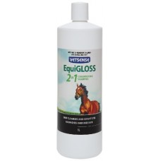 Vetsense EquiGLOSS 2in1 (Conditioner and shampoo) for horses 1Litre