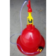Automatic Low Pressure Poultry Drinker With Float Valve - Small