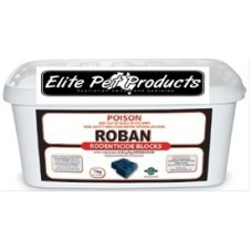 Roban Rodenticide Blocks 1Kg