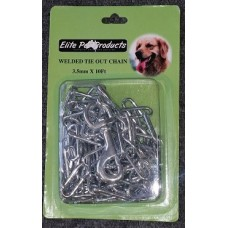 Tie Out Chain 10 Ft x 3.5mm