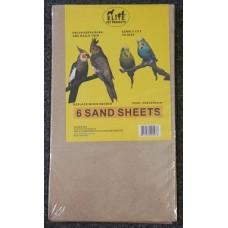 Sand Sheets Pkt 6
