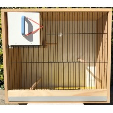 Wood Budgie Cabinet Large