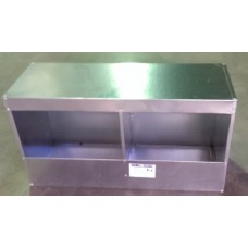 Metal Poultry Layer Box - 2 Hole